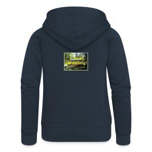 I love gardening - Garten - Frauen Premium Kapuzenjacke