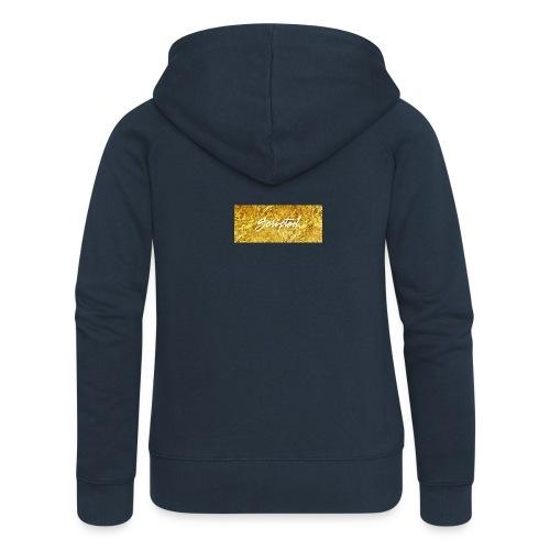 Scripted. Box Logo - Women's Premium Hooded Jacket