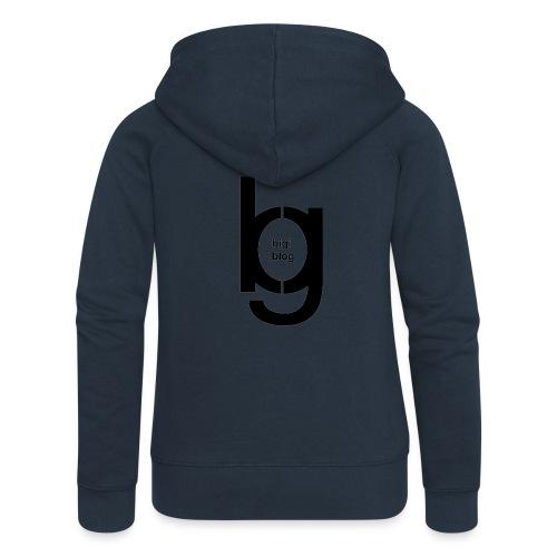 bigi logo black - Frauen Premium Kapuzenjacke
