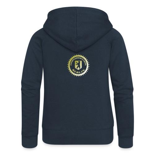 Logo klein ESU gold - Frauen Premium Kapuzenjacke