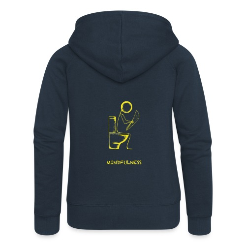 Mindfulness t-shirt - Women's Premium Hooded Jacket