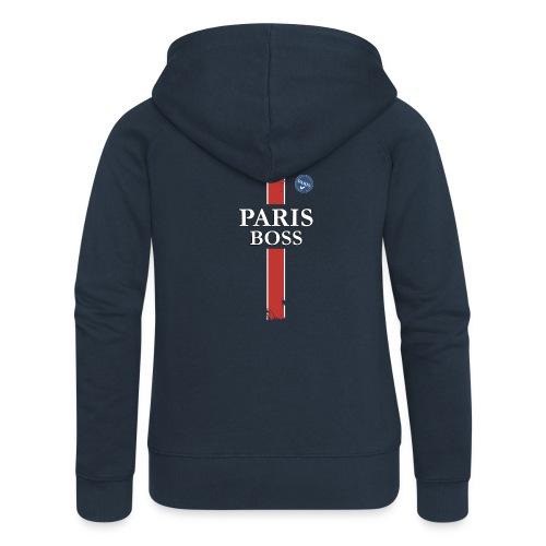 parisfinal11.png - Veste à capuche Premium Femme