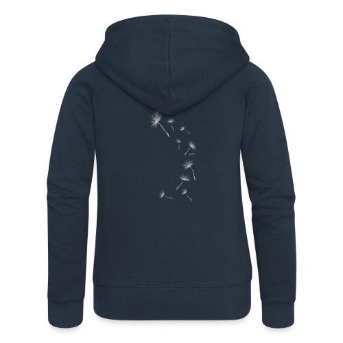 Pusteblume Design 1 - Frauen Premium Kapuzenjacke