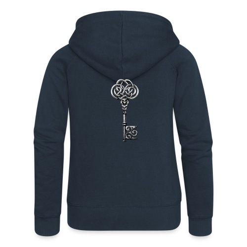 CHAVE-celtic-key-png - Chaqueta con capucha premium mujer