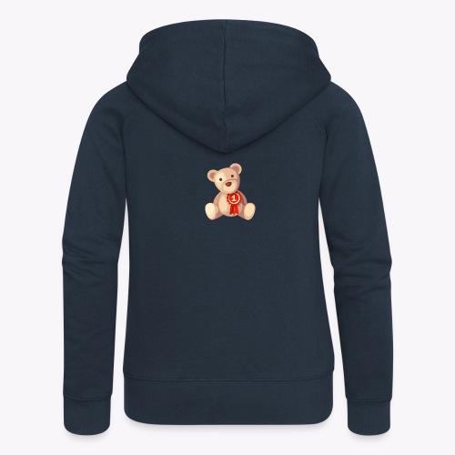Teddy Bear - Women's Premium Hooded Jacket