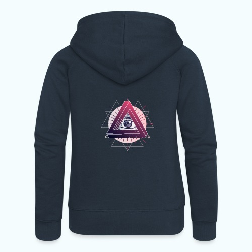 All Seeing Eye - Women's Premium Hooded Jacket