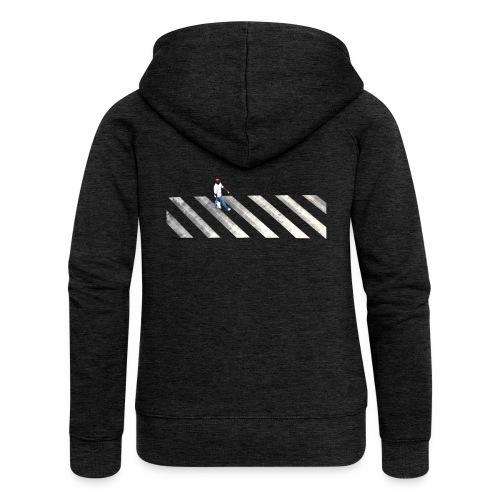 Stripes - Women's Premium Hooded Jacket