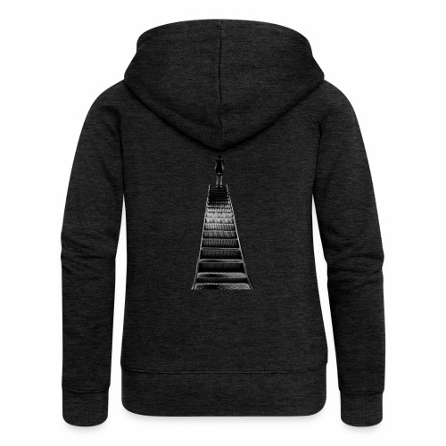 Stairway to Heaven - Women's Premium Hooded Jacket