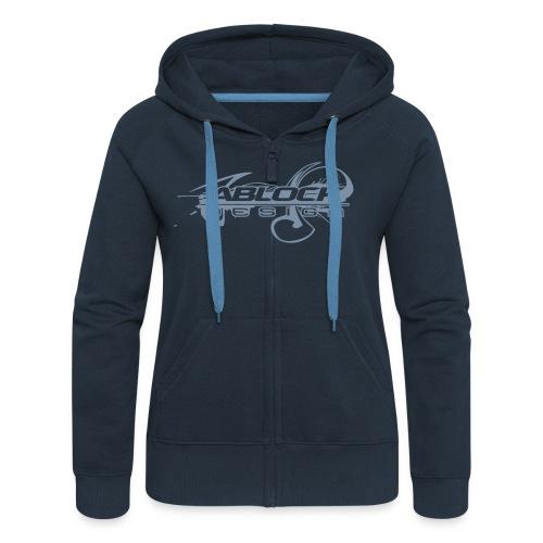 Logo Ablock Splash - Veste à capuche Premium Femme