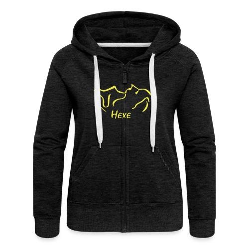 Hexe - Frauen Premium Kapuzenjacke
