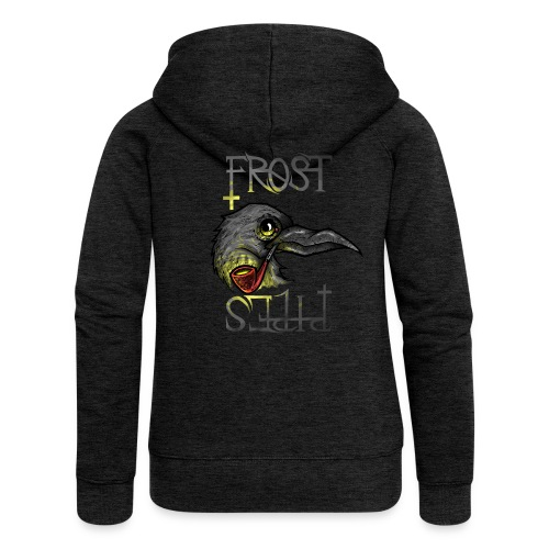 Frost Pipes Crow - Women's Premium Hooded Jacket