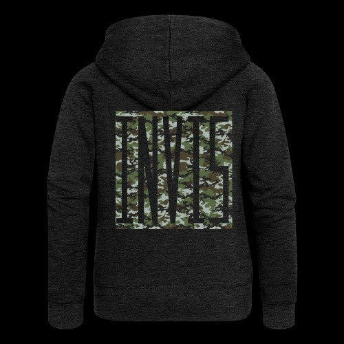 INVIS Camouflage - Frauen Premium Kapuzenjacke