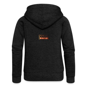 Cap logo Orange - Women's Premium Hooded Jacket