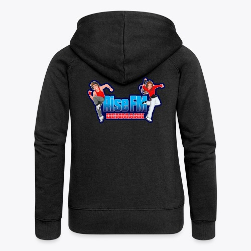 Rise FM Logo - Women's Premium Hooded Jacket
