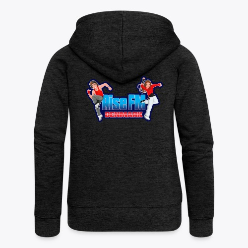Rise FM Logo - Women's Premium Hooded Jacket