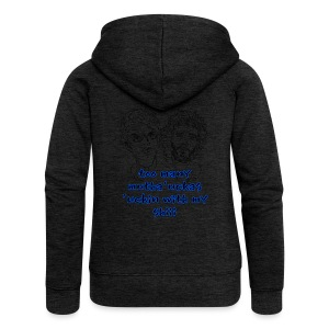Mutha Ucka Flight of the Conchords - Women's Premium Hooded Jacket