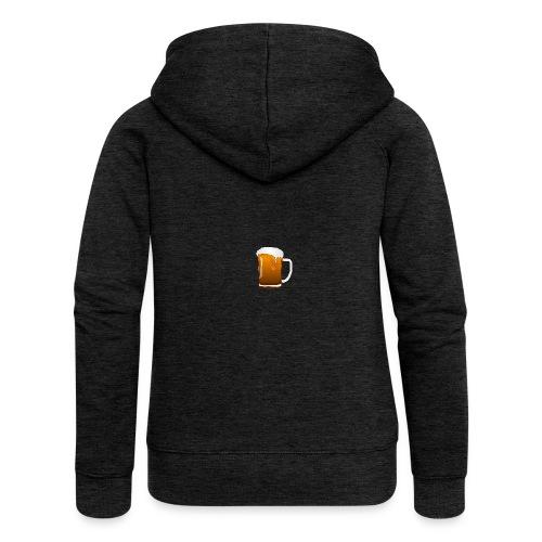 Bier - Frauen Premium Kapuzenjacke