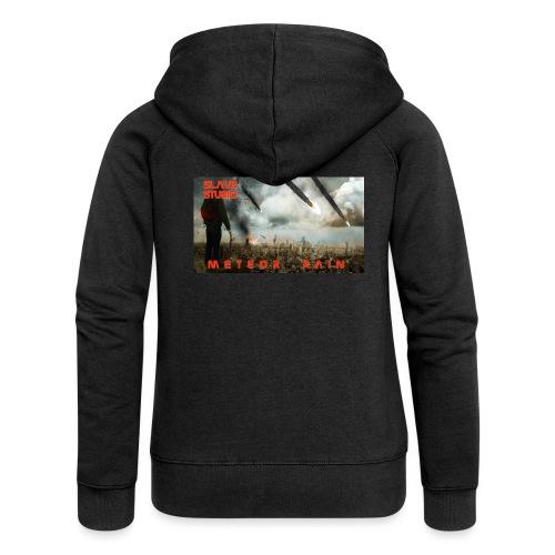 Meteor rain - Felpa con zip premium da donna