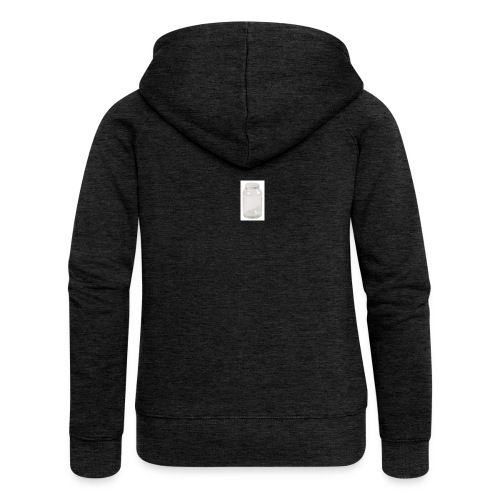 PLEASE FILL UP MY EMPTY JAR - Women's Premium Hooded Jacket