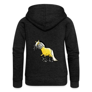 fjord_horse - Women's Premium Hooded Jacket