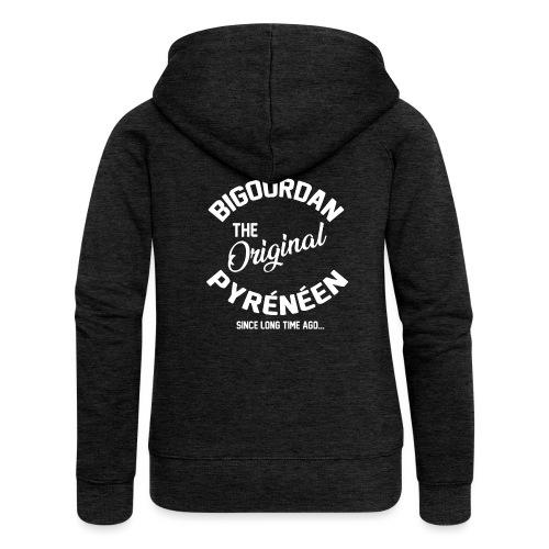 BIGOURDAN - Veste à capuche Premium Femme