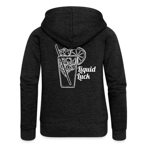 Liquid Luck - Frauen Premium Kapuzenjacke