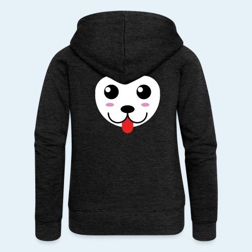 Husky perro bebé (baby husky dog) - Chaqueta con capucha premium mujer