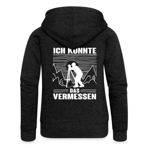 Vermessungstechniker Lustig Geomatiker Theodoloit - Frauen Premium Kapuzenjacke