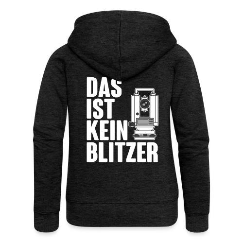 Vermessungstechniker Theodoloit Blitzer Geomatiker - Frauen Premium Kapuzenjacke