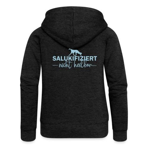 Saluki - nicht heilbar - Frauen Premium Kapuzenjacke