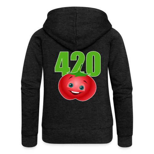 Tomate 420 - Frauen Premium Kapuzenjacke
