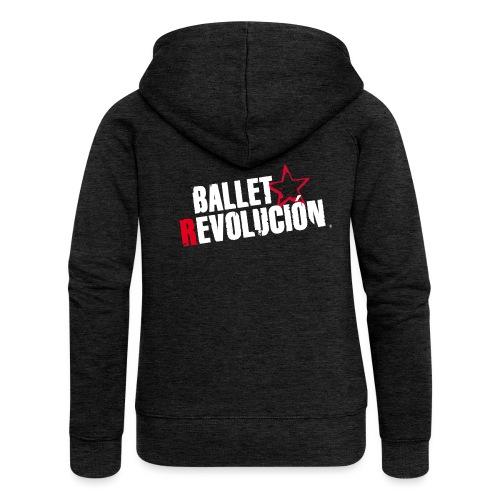 Ballet Revolución Logo - Frauen Premium Kapuzenjacke