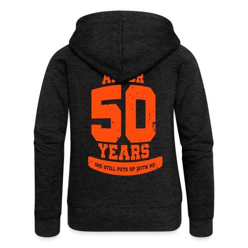 Ü50 Über 50 Jahre 50th - colorize - Frauen Premium Kapuzenjacke