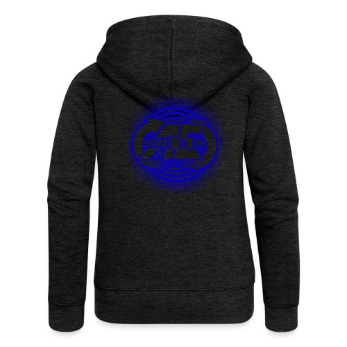 Altitude Era Circle Logo - Women's Premium Hooded Jacket
