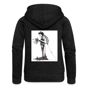 EdwardScissorhands.jpg - Women's Premium Hooded Jacket