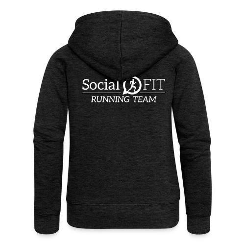 SocialFit RunningTeamLogo - Frauen Premium Kapuzenjacke
