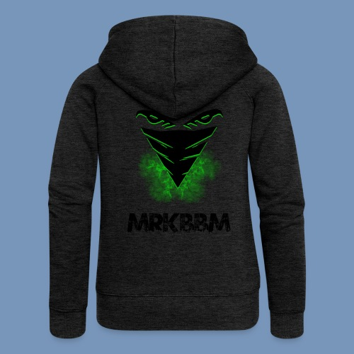 mrkbbm name and logo - Vrouwenjack met capuchon Premium