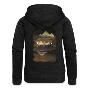 Men's shirt Album Art - Women's Premium Hooded Jacket