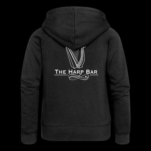 Logo The Harp Bar Paris - Veste à capuche Premium Femme