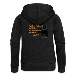 Luther-Zitat - Frauen Premium Kapuzenjacke