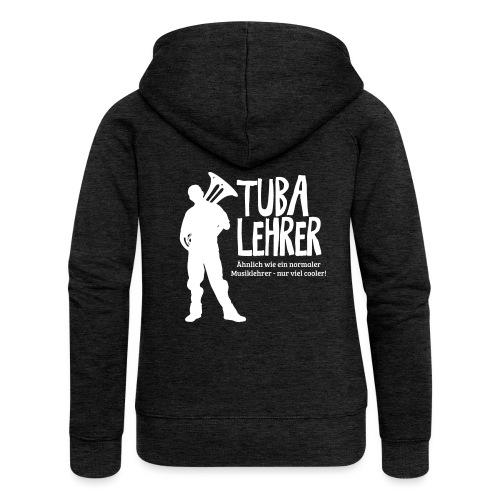 Tuba Lehrer | Tubist - Frauen Premium Kapuzenjacke