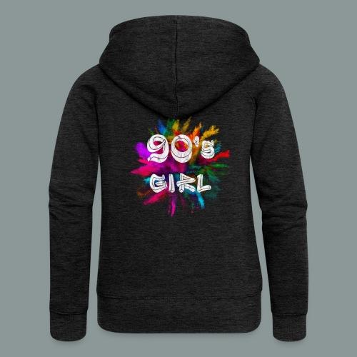 90 s girl - Frauen Premium Kapuzenjacke
