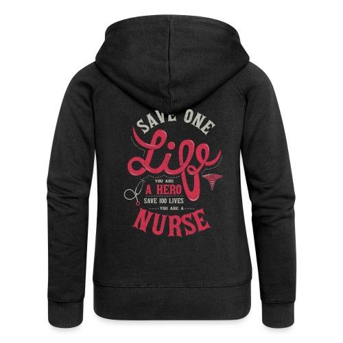 Vintage hero nurse - Naisten Girlie svetaritakki premium