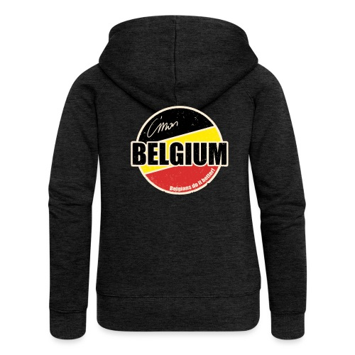 Cmon Belgium - Vrouwenjack met capuchon Premium