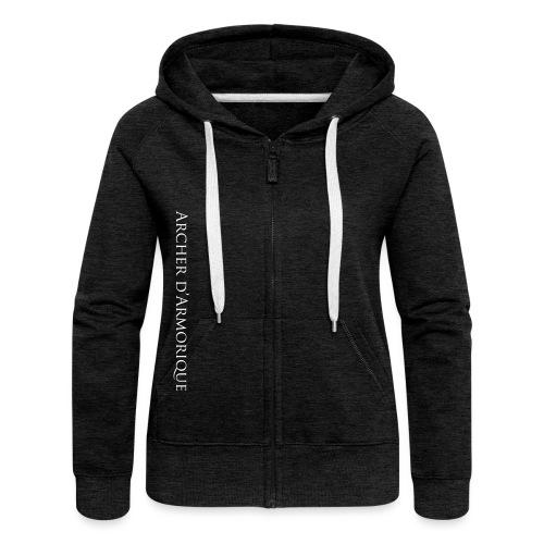 archerdarmorique - Veste à capuche Premium Femme