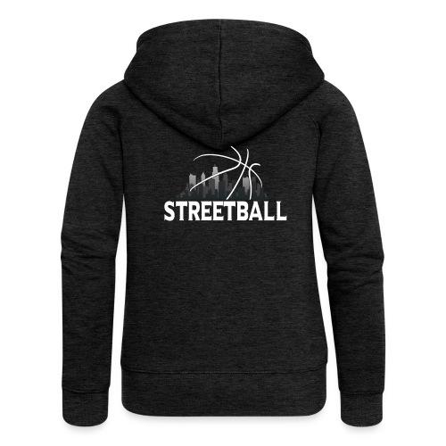 Streetball Skyline - Street basketball - Women's Premium Hooded Jacket