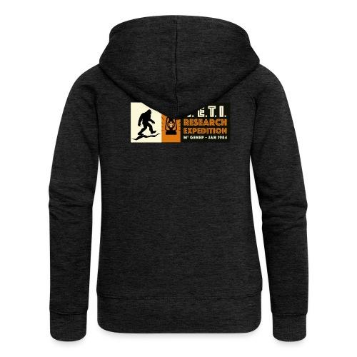 A la recherche du Yeti - Veste à capuche Premium Femme