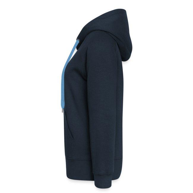 Vorschau: spreche mit meinem HUND - Frauen Premium Kapuzenjacke