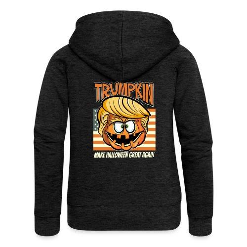 Trumpkin Donald Trump Halloween - Frauen Premium Kapuzenjacke