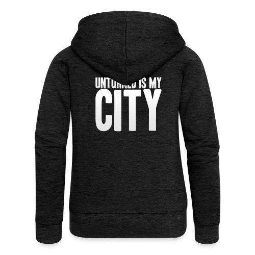 Unturned is my city - Women's Premium Hooded Jacket